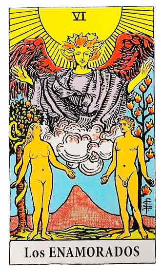 Los Enamorados en el Tarot – Arcano VI