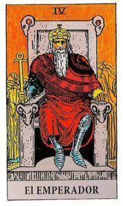el emperador en el tarot