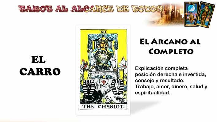 El Carro en el Tarot – Arcano VII