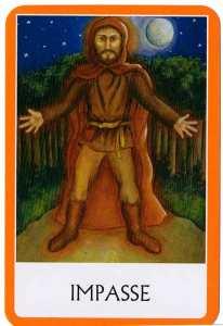 Oráculo de los Chakras - Impasse - Punto Muerto