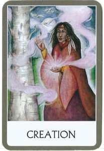 oráculo de los chakras CREATION