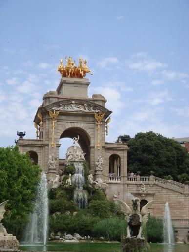 A walk across Parc de la Ciutadella