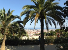 A view from Park Güell