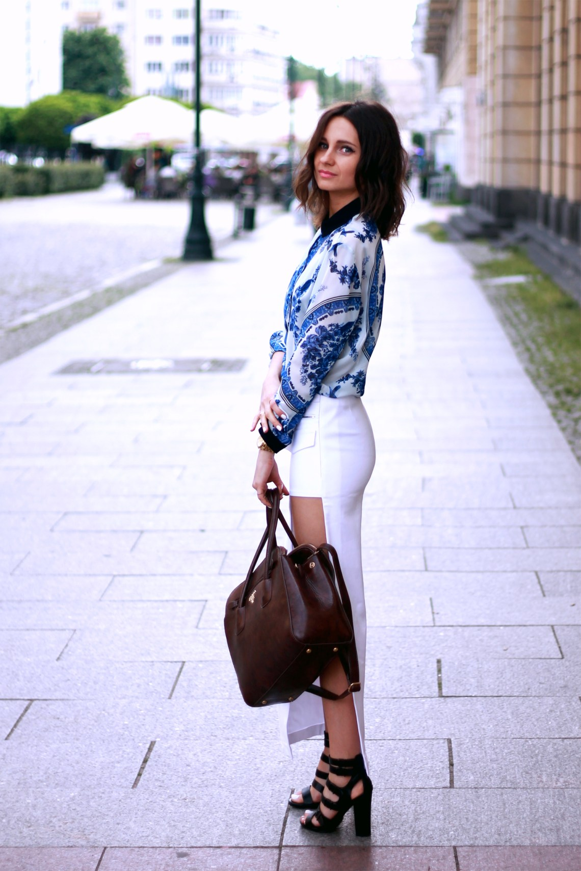 style blogger ootd look tumblr girl fashion trends lookbook chic mohito topshop prada outfit lilis 1
