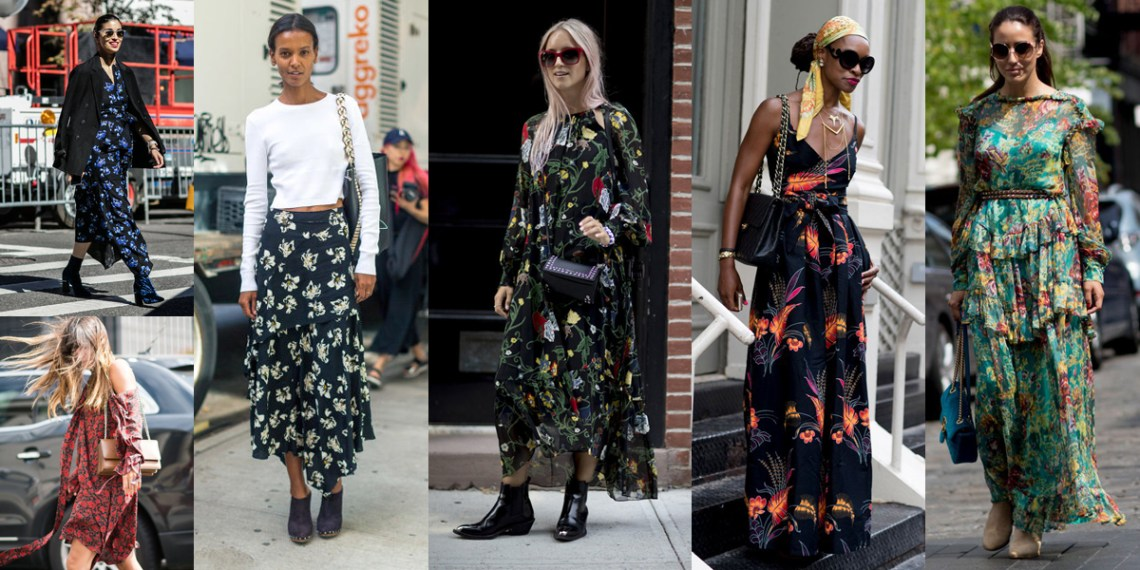 nyfw-2017-best-street-style-trends-ootd-flower-print-dress