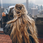 Braids Inspiration Tumblr Pinterest Hairstyle Messy Hippie