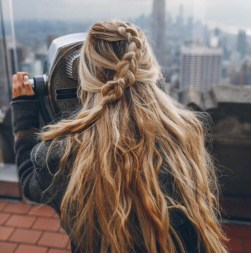 braids inspiration tumblr pinterest hairstyle messy hippie beautiful braid inspo long blonde hair girl