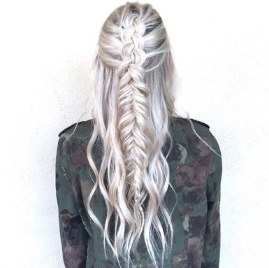 braids inspiration tumblr pinterest hairstyle side braid inspo blonde hair