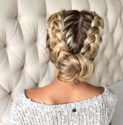 braids inspiration tumblr pinterest hairstyle side braid inspo long blonde hair girl duch braid