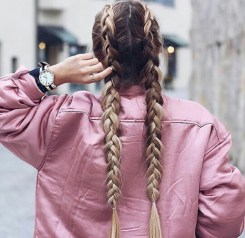braids inspiration tumblr pinterest hairstyle two duch braids inspo long blonde hair girl
