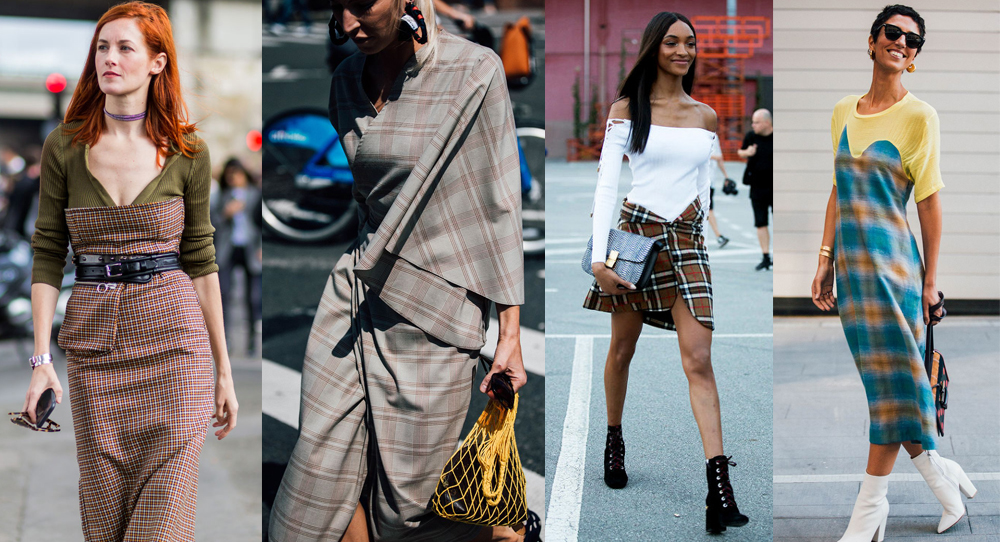 TRENDS: Stripes vs. squares. Check out most popular street style trend during NYFW!