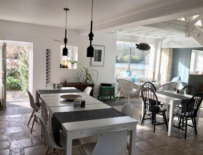 salle petits déjeuners mobilier scandi moulin saint julien