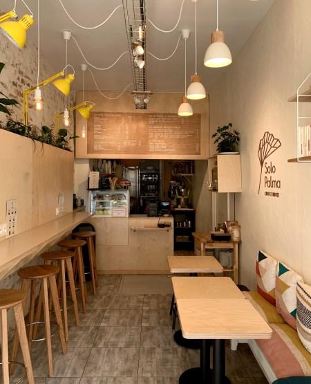 Solo palma coffee house vue pâtisserie Orléans lilideambule
