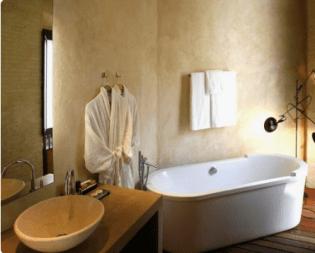 salle de bain hôtel eme catedral