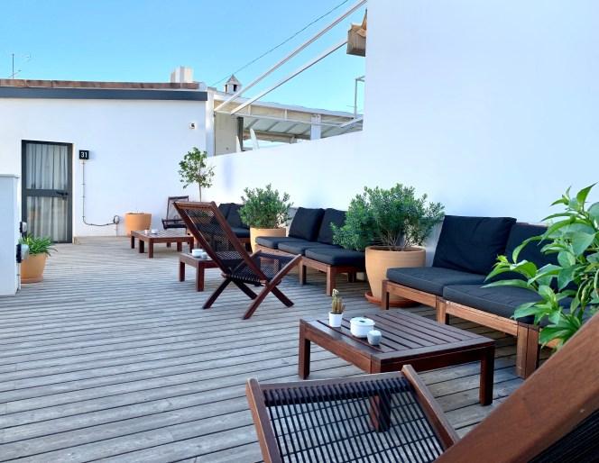 terrasse For You Hostel Seville