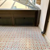 Patio vers chambres For You Hostel Sevilla