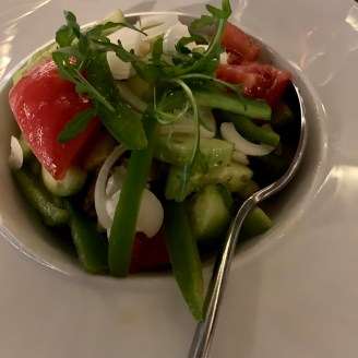 salade cretoise restaurant Magma