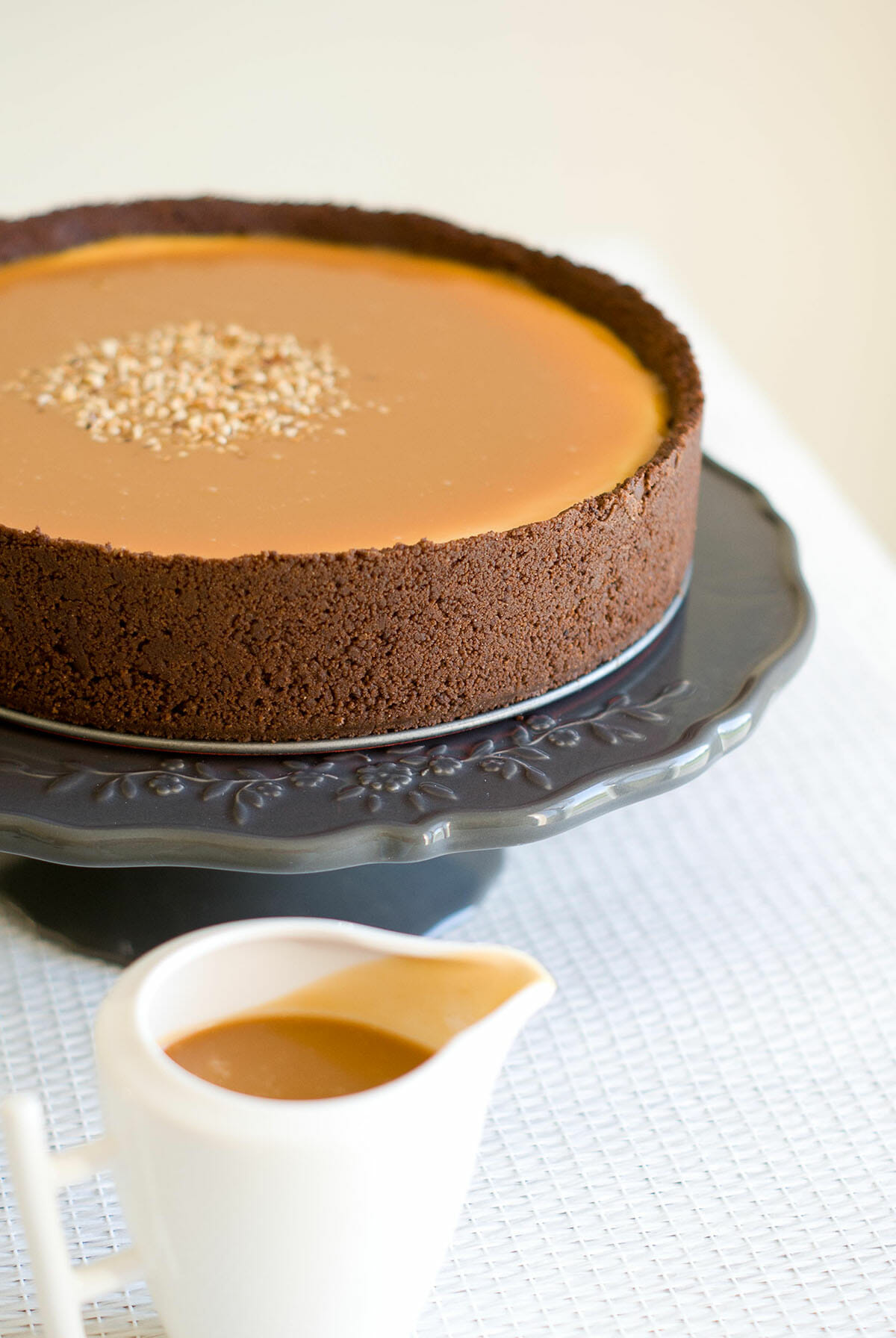 Cheesecake Vanille Chocolat Amp Caramel Beurre Sal Lilie