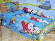 Sprei-Lady-Rose-Disperse-My-Melody-Single-120x200