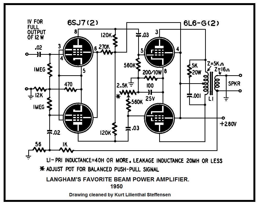 6y6 Amp Schematics Wiring Diagram