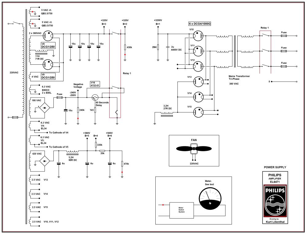 medium resolution of philips el6471 qb35 750 pp power supply ed