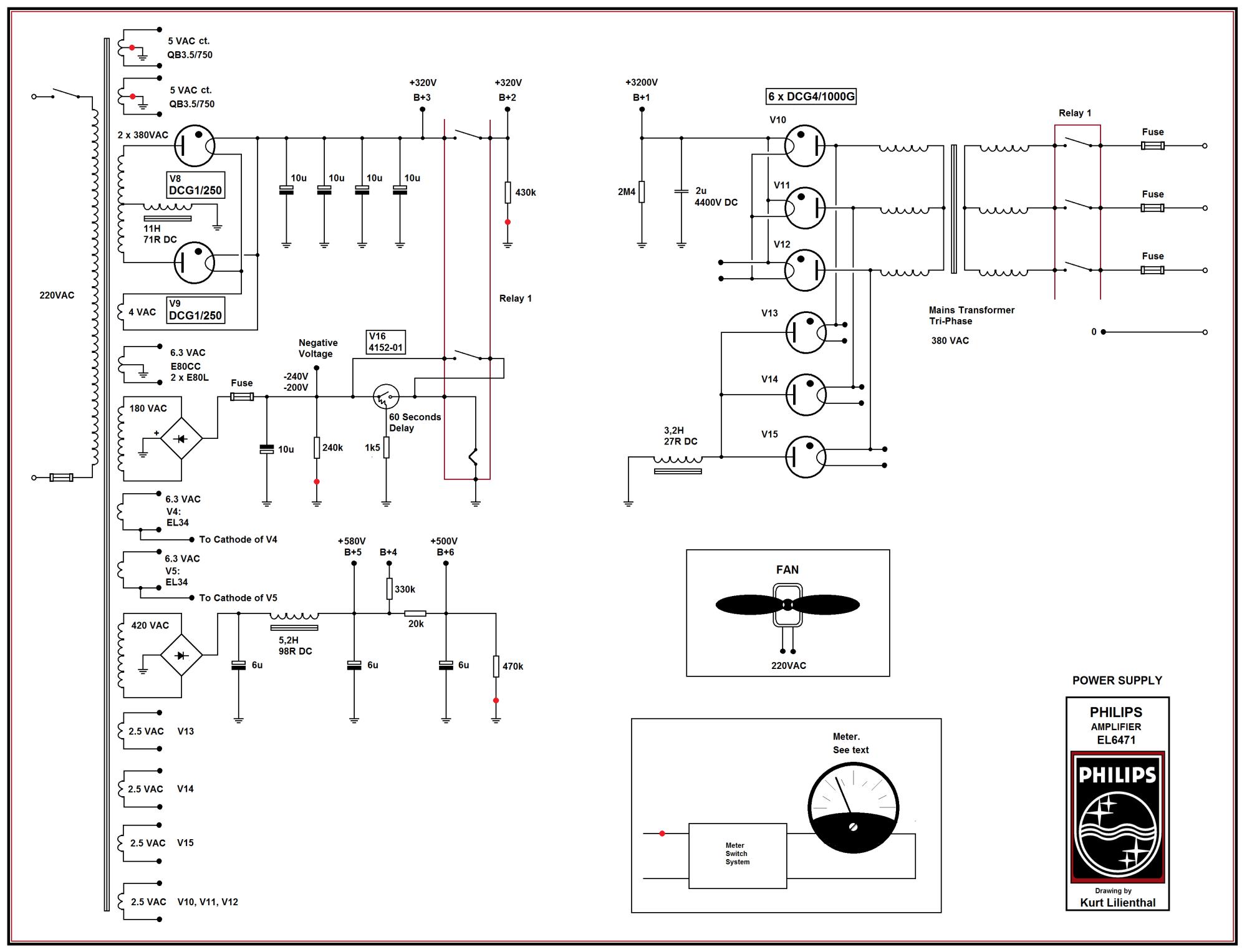 hight resolution of philips el6471 qb35 750 pp power supply ed