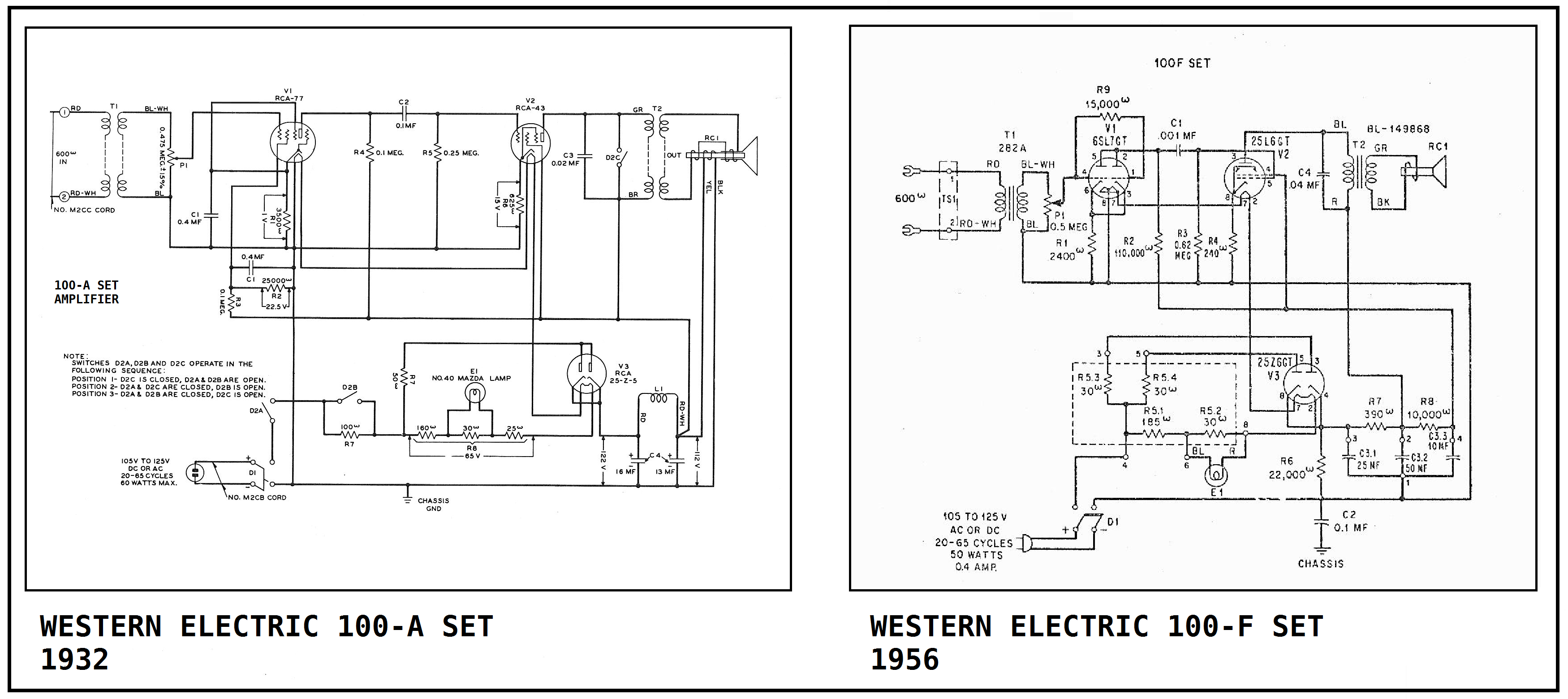 Trimline Telephone Wiring Diagram Auto Electrical For Western Electric 102 Set 43