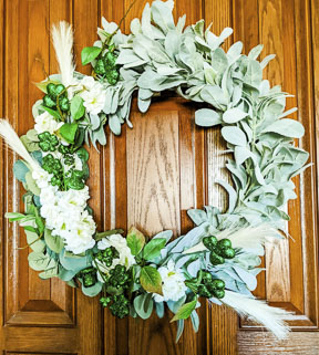 DIY 1 Wreath for 2 Holidays |St. Patrick's & Easter