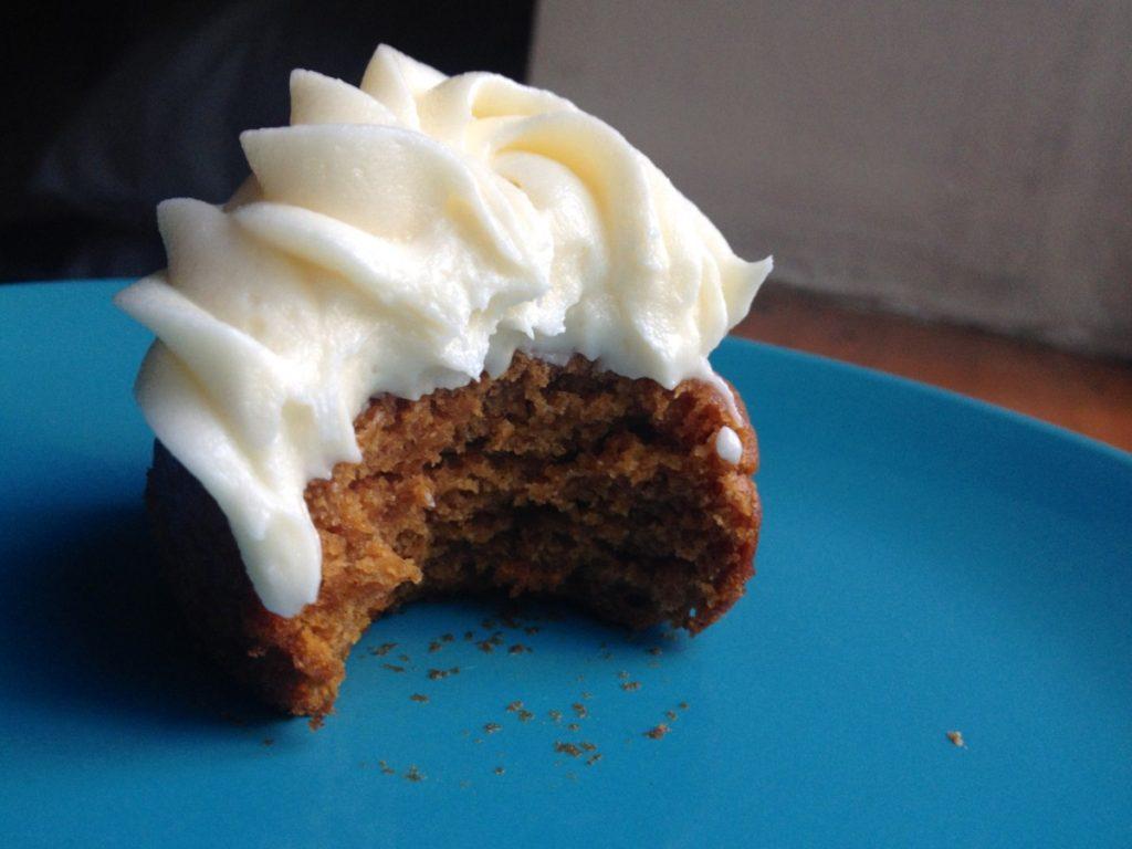 Pumpkin Bread Cupcakes