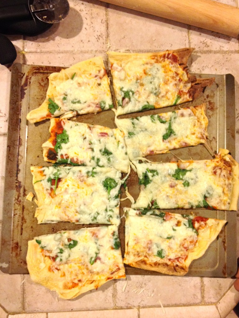 Ranch Pizza