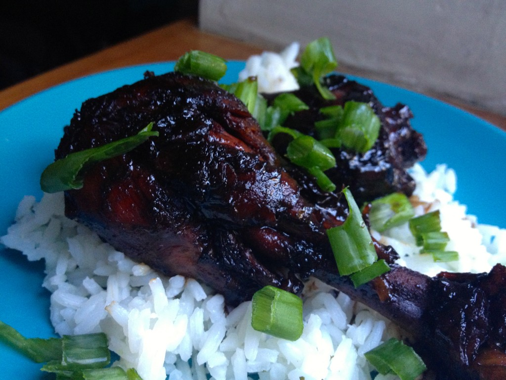 Ginger and Soy Glazed Chicken