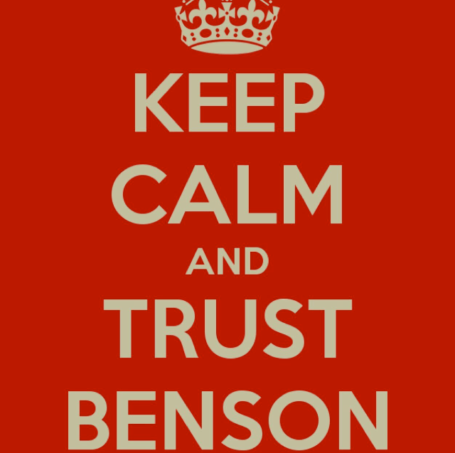 #trustbenson