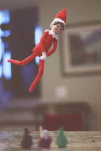 Elf on the Shelf: Wingardium Leviosa