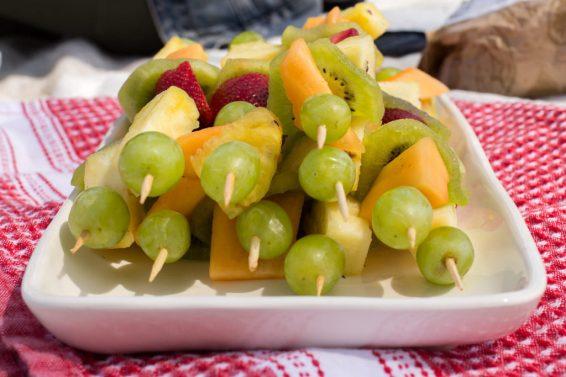 Fruit Shish Kabobs