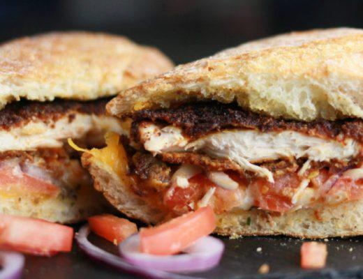 Everything Chicken Sandwich Melts
