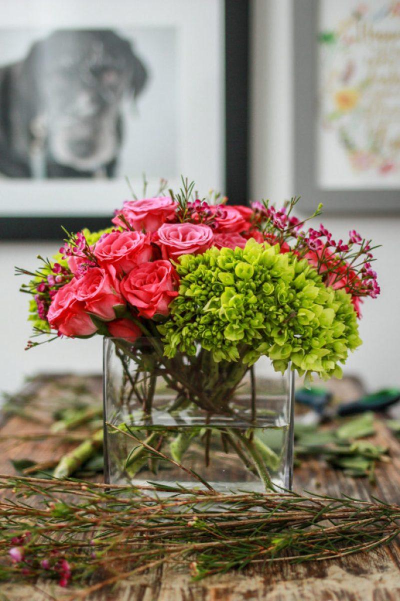 Galentine's Day Flower Arrangement