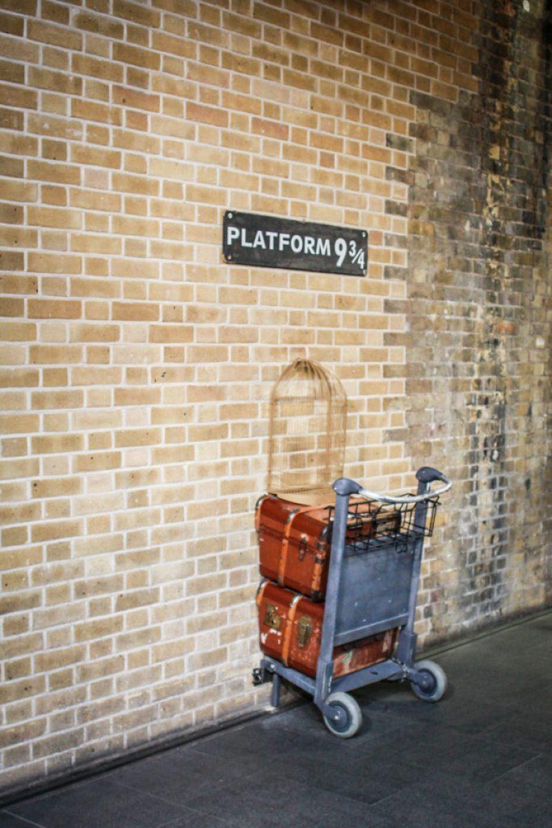 Vacation at Platform 9 3/4 Like a Boss