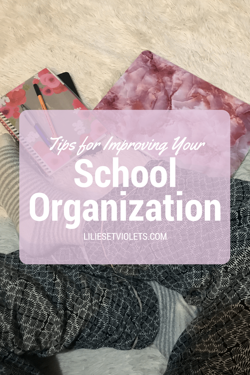 Tips for Improving Your School Organization