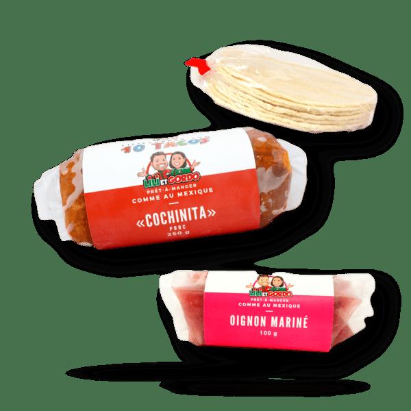 10 tacos cochinita