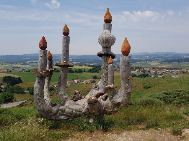 Compostelle Monistrol d'Allier - Saugues