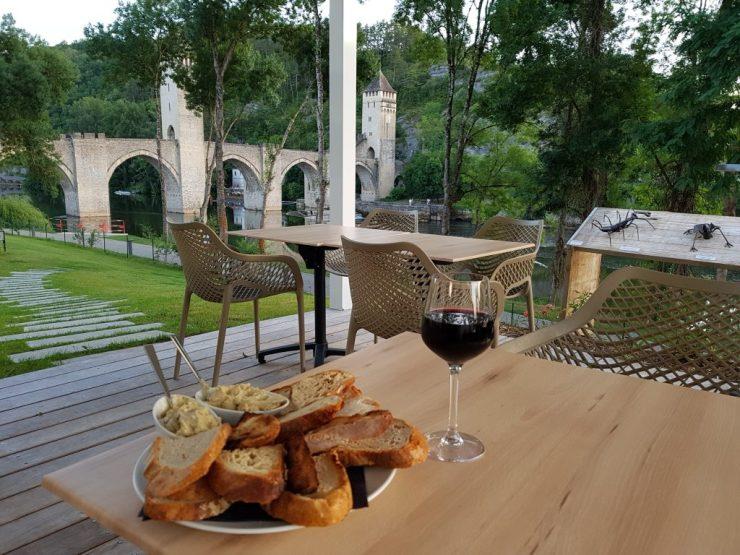 Vue Best-western Cahors