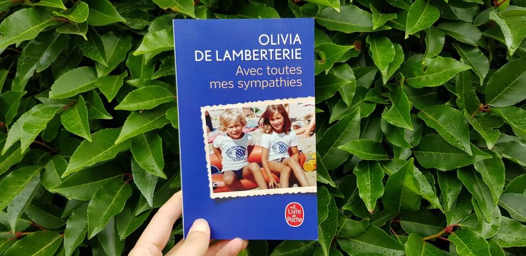 Avec toutes mes sympathies d'Olivia Lamberterie