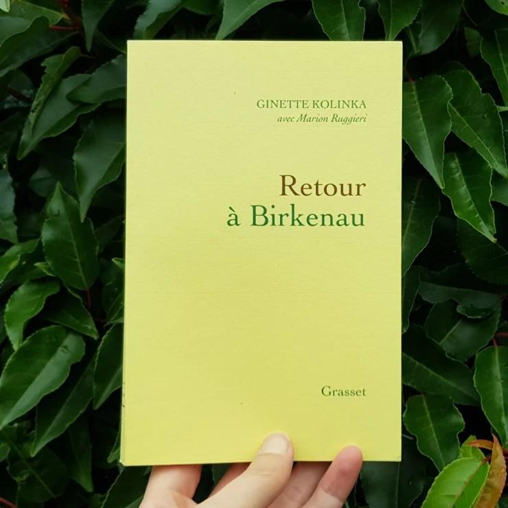 Retour à Birkenau - Ginette Kolinka