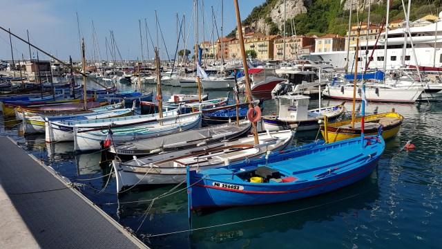 Nice - Pointus dans le port Lympia- mai 2021