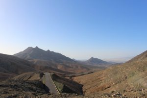 Vue mirrador de morro velosa Fuerteventura