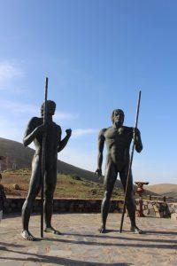 Statues mirrador de morro velosa Fuerteventura