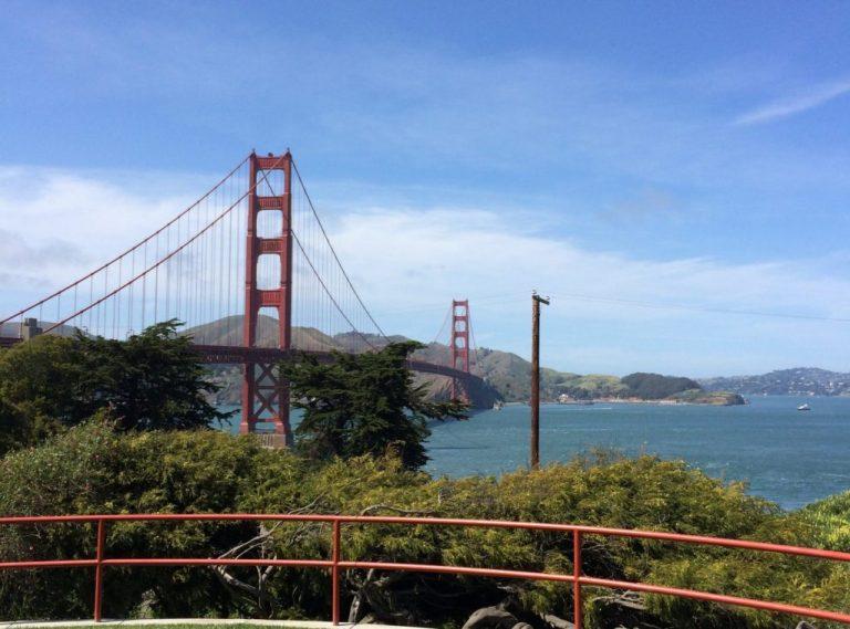 Pont suspendu - le pont du Golden Gate