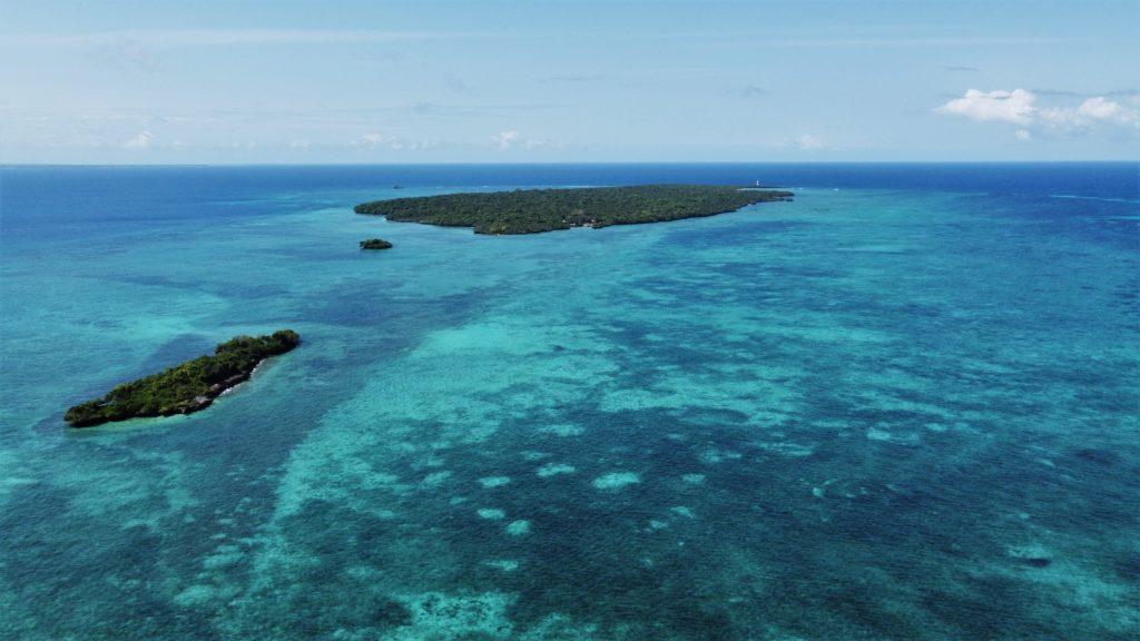 vue drone pungume island zanzibar