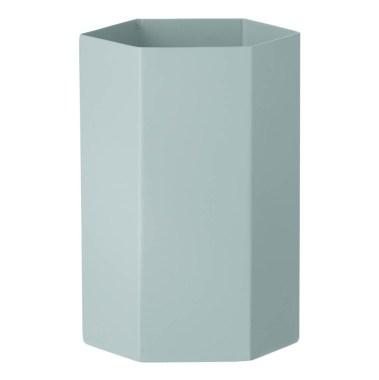 vase-hexagon-en-metal-h15cm