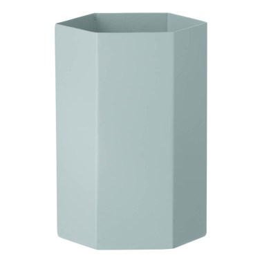 vase-hexagon-en-metal-h15cm